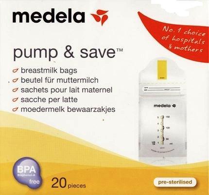 Medela Pump & Save (kantong ASIP)