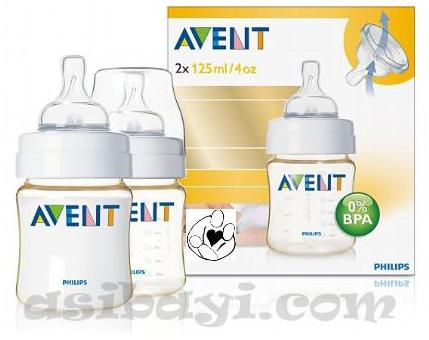 avent pes bottle 2 x 260ml