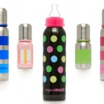 Stainless Steel Baby Bottle: OrganicKidz (standard-neck)