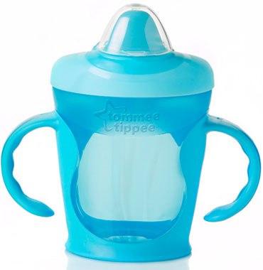 explora easy drink cup blue