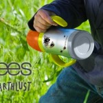 Bird and Bees by Earthlust, Stainless Baby Bottle