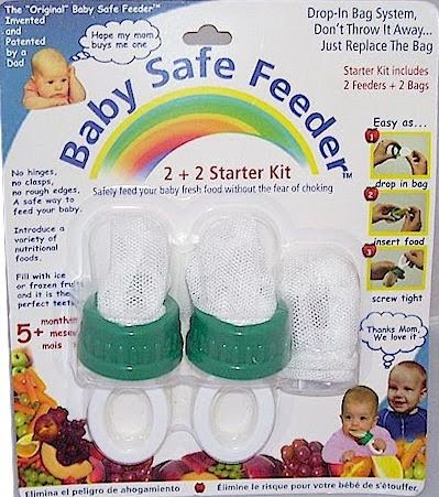 baby safe feeder starter kit
