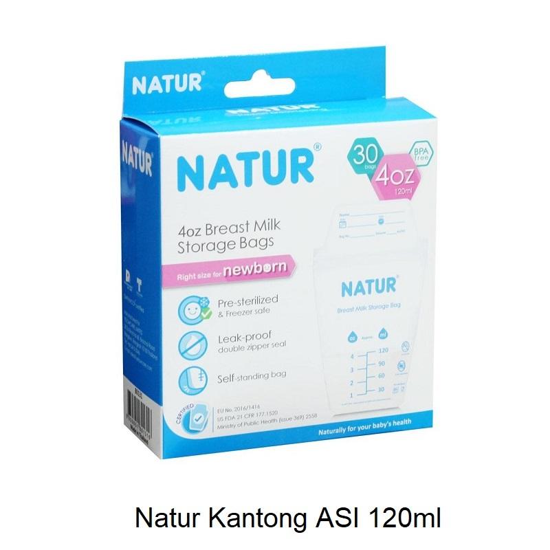 Natur Breastmilk Storage Bags 120ml