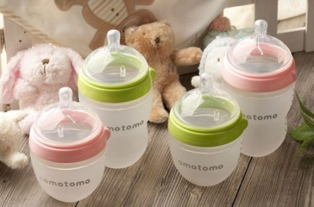 comotomo silicone nurser bottle