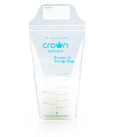 crown breast milk bag