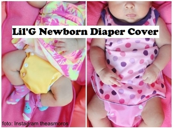 LilG Diaper Cover Polos in Use