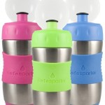 KidBasix Safe Sporter, Stainless Sport Bottle