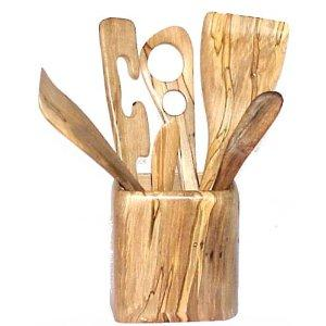 Wooden Feeding Utensils