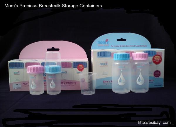 moms precious breastmilk storage containers