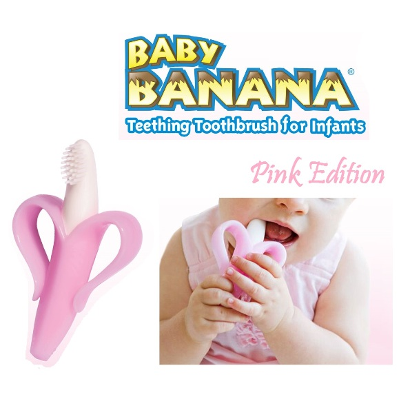 baby banana brush infant pink edition