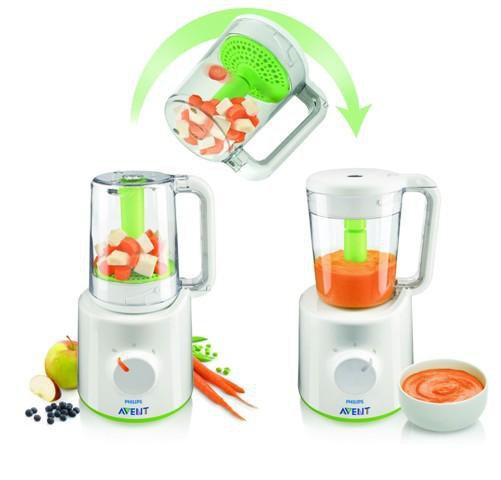 Philips Avent Combined Steamer and Blender SCF870/20