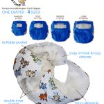 Rumparooz OS Diaper Solid (Polos)