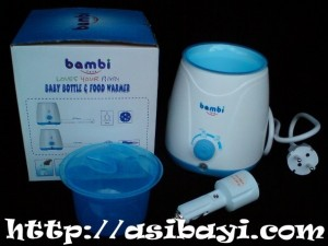 bambi food and warmer home-car