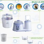 Little Giant Sterilizer and Food Processor LG 4910