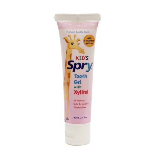 Kids Spry Tooth Gel - Bubble Gum