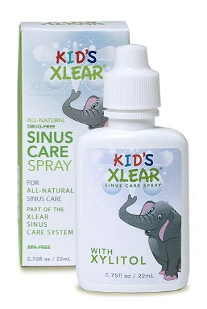 kids xlear sinus care spray