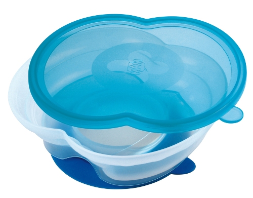 mam baby bowl blue