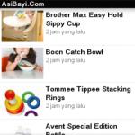 Aplikasi Asibayi.com untuk BlackBerry