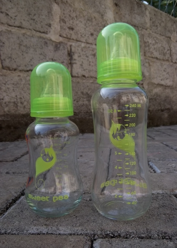 Sweet Pea Glass Baby Bottle (1)