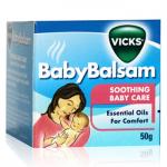 Vicks Baby Balsam, Penenang Ketika Bayi Batuk Pilek