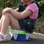 Potette Plus, 2 in 1 On the Go Potty