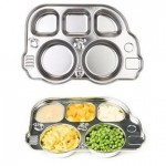 Din Din Smart Stainless Divided Platter