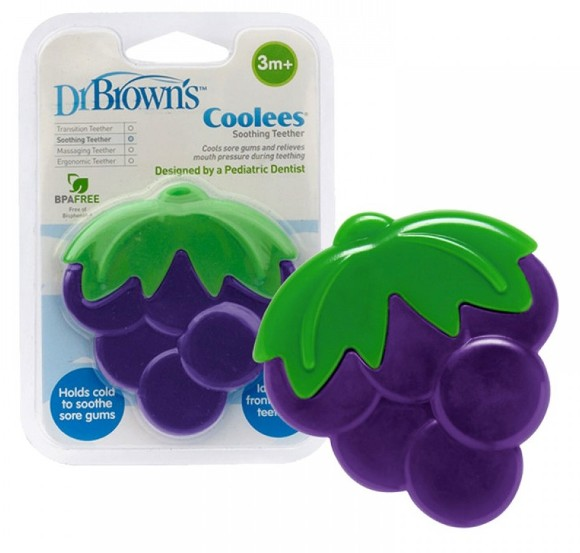 Dr Brown's Teether Coolees Grapes