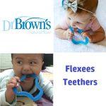Dr Brown's Flexees, Mainan Gigitan Bayi 3 Bulan