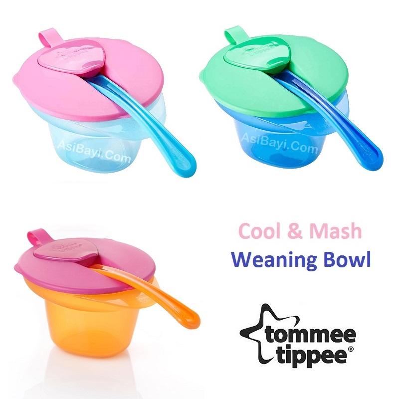 Tommee Tippee Cool & Mash Weaning Bowl