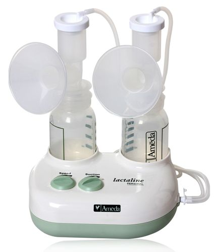 Ameda Double Electric Breastpump Lactaline Personal