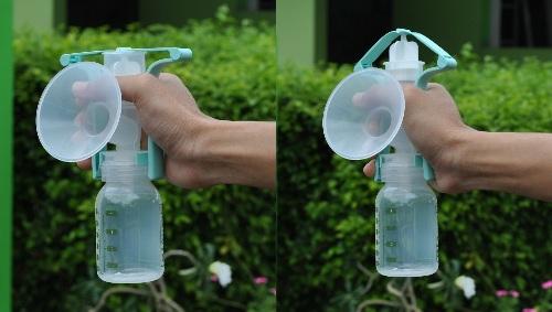 Ameda One-Hand Manual Breastpump (use)