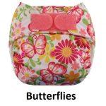 Blueberry Deluxe Velcro Butterflies