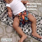 Blueberry™ One Size Deluxe Pocket Diaper
