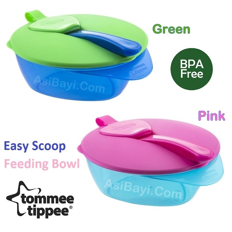 Tommee Tippee Easy Scoop Feeding Bowl Mangkok Makanan Bayi