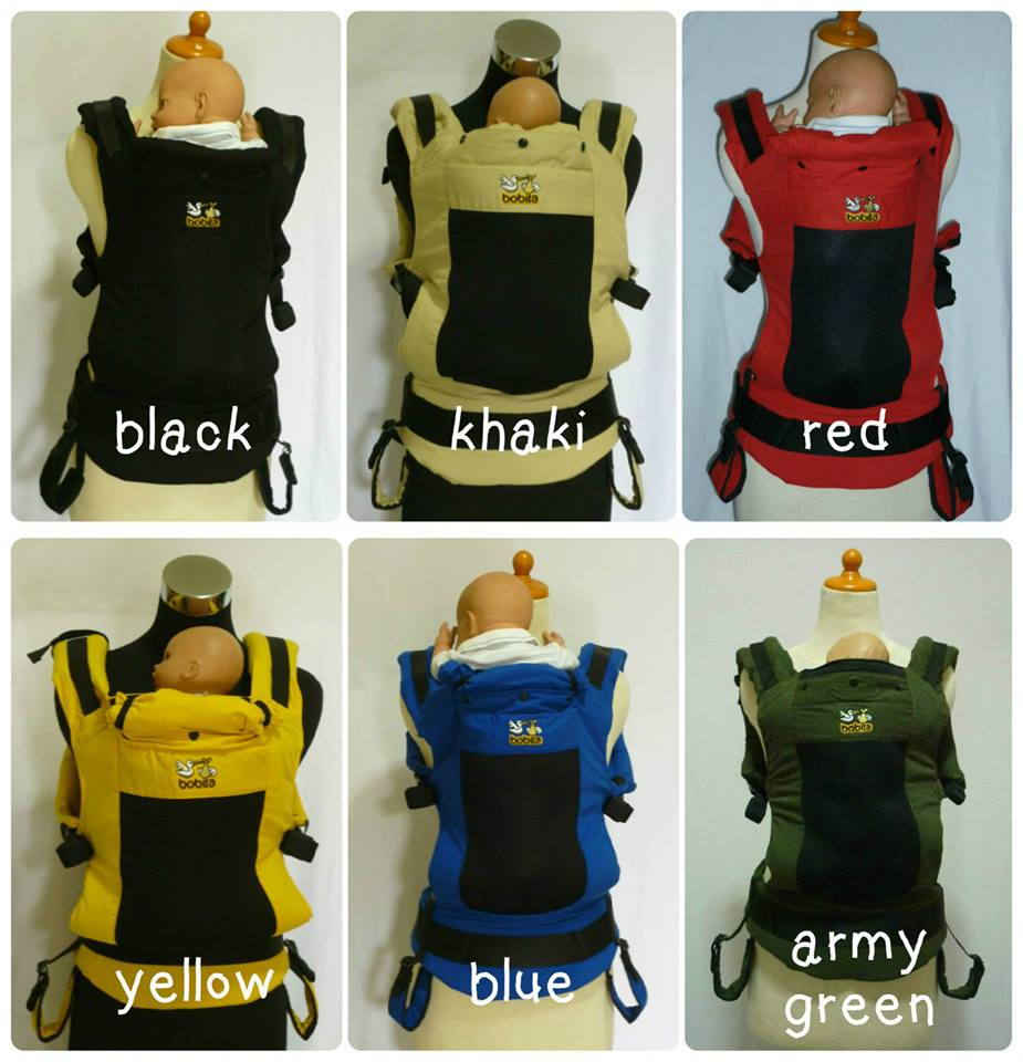 bobita carrier all color