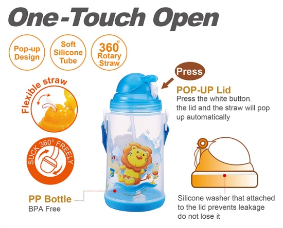Simba Open Smart Water Bottle