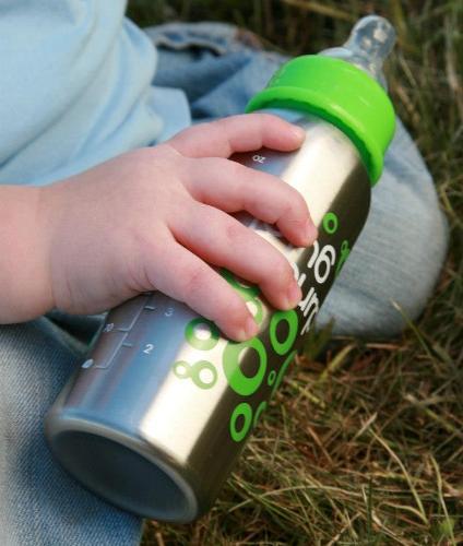 OrganicKidz Stainless Baby Bottle 2013