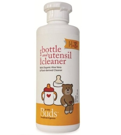 buds bottle and utensil cleaner