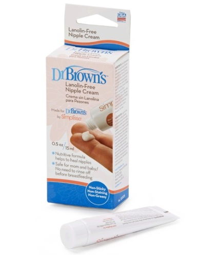 dr brown lanolin free nipple cream