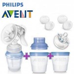 Avent Manual Breastpump Natural Comfort With Storage Cup