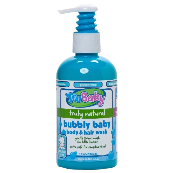 Trubaby Bubbly Baby Body & Hair Wash