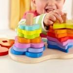 Hape Toys: Double Rainbow Stacker