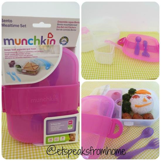 Munchkin Click Lock Bento Mealtime Set Cover