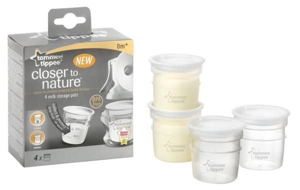 Tommee Tippee Milk Storage Pots