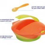 Lucky Baby Astro Feeding Bowl with Spoon