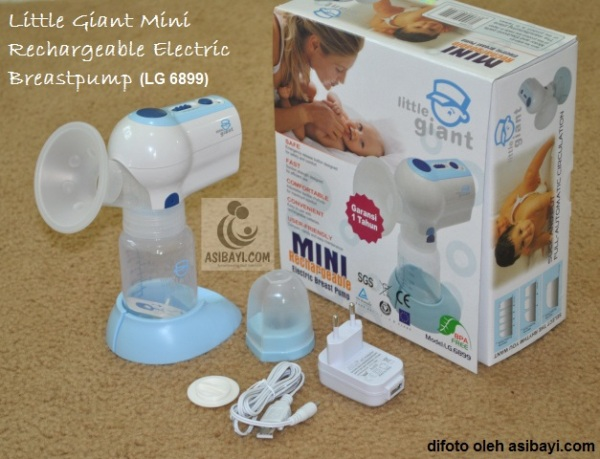 Little Giant Mini Rechargeable Electric Breastpump LG6899