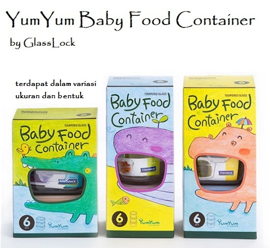 yumyum baby food container glasslock all