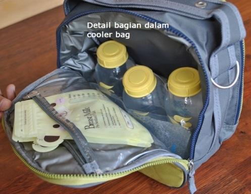 Allerhand Cooler Bag (KW) bagian dalam