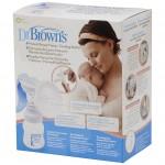 drbrowns manual breast pump plus feeding bottle packaging