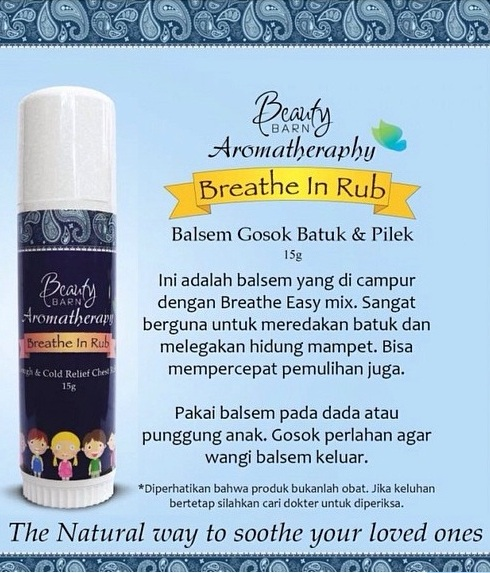 Beauty Barn Breathe in Rub